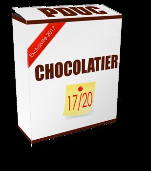 pduc sur un chocolatier